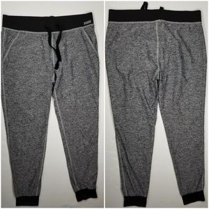 Victoria's Secret Yoga Joggers Sz S Gray Black